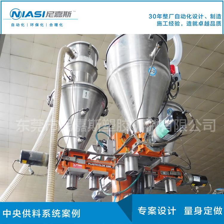 电线电缆中央供料系统